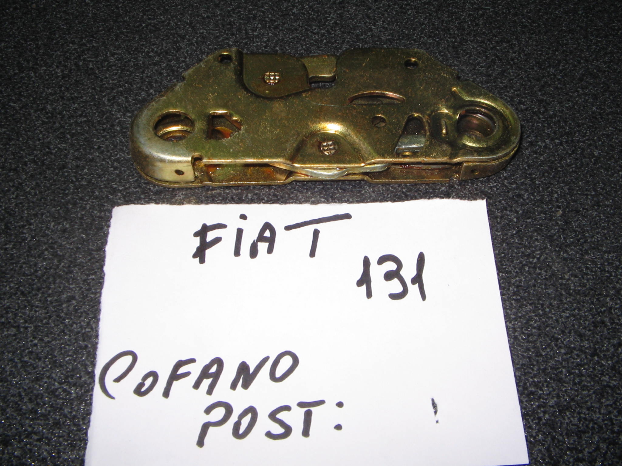 FIAT  131  SERRATURA  COFANO  POST.  ART 1.182