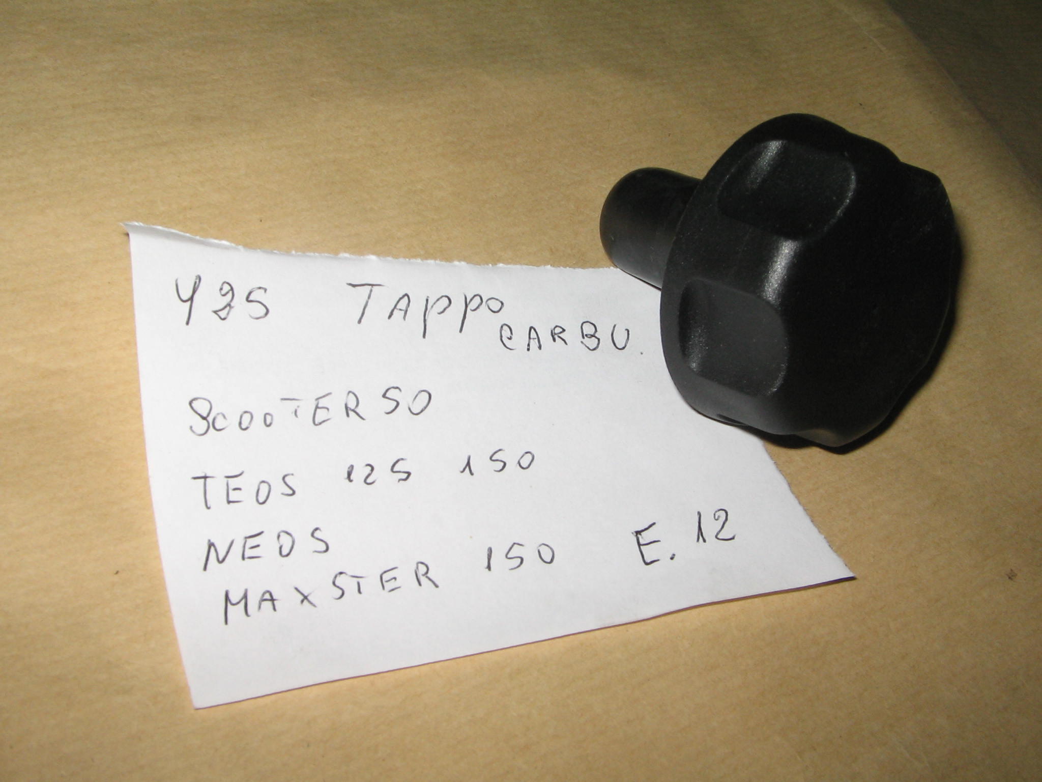 TAPPO CARBURANTE N.1208